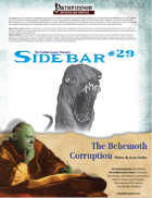 Sidebar #29 - The Behemoth Corruption