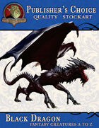 Publisher's Choice - Creatures A to Z: Black Dragon