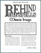 Behind the Spells: Mirror Image