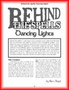 Behind the Spells: Dancing Lights