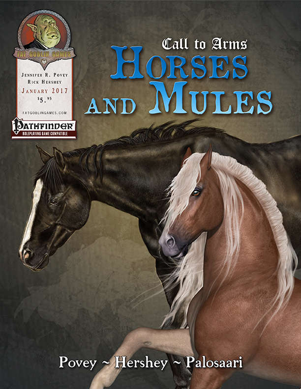 Horses and Mules Cover Art