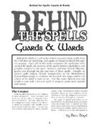 Behind the Spells: Guards & Wards