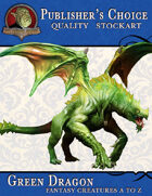 Publisher's Choice - Creatures A to Z: Green Dragon