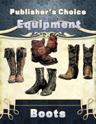 Publisher's Choice -Equipment: Boots