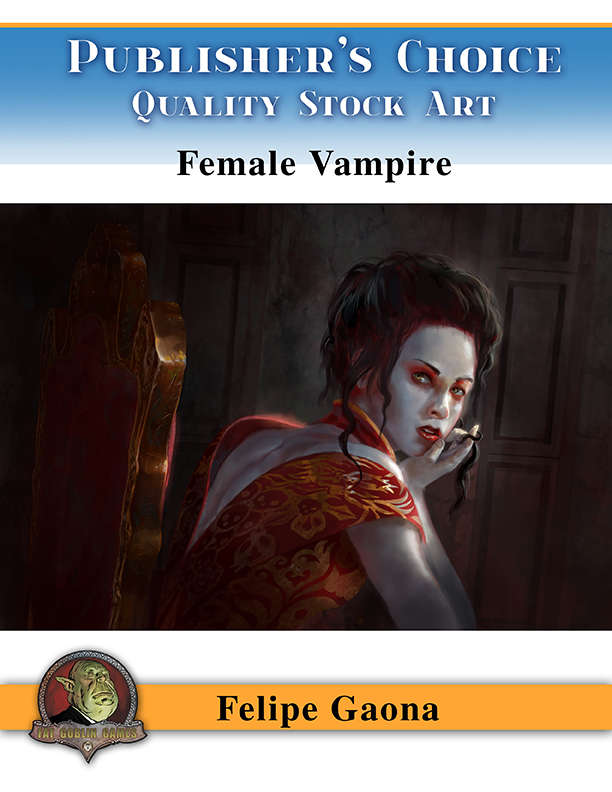 Publisher's Choice - Felipe Gaona (Female Vampire)