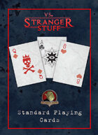 vs. Stranger Stuff Official Playing Card Deck