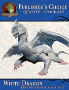 Publisher's Choice - Creatures A to Z: White Dragon