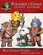 Publisher\'s Choice - Basic Fantasy Figures (Otso-Bear)