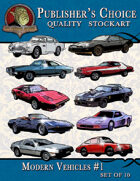 Publisher's Choice - Modern Vehicles #1 (Set of 10)
