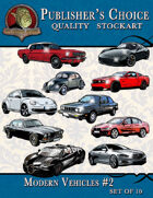 Publisher's Choice - Modern Vehicles #2 (Set of 10)