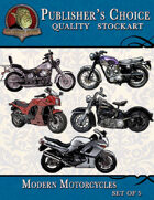 Publisher's Choice - Modern Motorcycles (Set of 5)