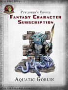Publisher's Choice - Fantasy Characters: Aquatic Goblin