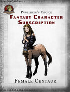 Publisher's Choice - Fantasy Characters: Female Centaur