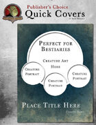 Publisher's Choice: Quick Covers #13
