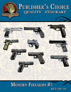 Publisher's Choice - Modern Firearms #1 (Set of 10)