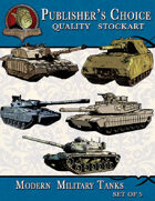 Publisher's Choice - Modern Military Tanks (Set of 5)