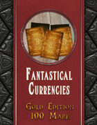 Fantastical Currencies Card Set: 100 Gold Mark