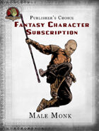 Publisher's Choice - Fantasy Characters: Male Monk