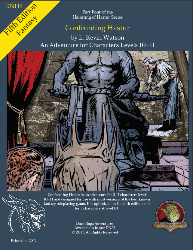 DNH4 - Confronting Hastur - 5th Edition