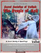 Secret Societies of Vathak: The People of Ash