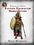 Publisher's Choice - Fantasy Characters: Male Warrior