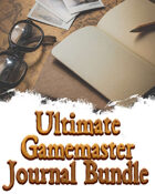 Ultimate Gamemaster Journal [BUNDLE]