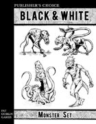 Publisher's Choice - Black & White: Monster Set