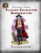 Publisher's Choice - Fantasy Characters: Necromancer