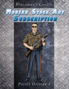 Publisher's Choice - Modern: Police Officer 2