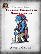 Publisher's Choice - Fantasy Characters: Arctic Gnome