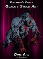 Publisher's Choice - Quality Stock Art: Dire Ape