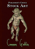 Publisher's Choice - Quality Stock Art: Standard Goblin