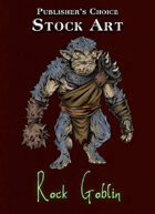 Publisher's Choice - Quality Stock Art: Rock Goblin
