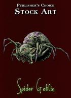 Publisher's Choice - Quality Stock Art: Spider Goblin