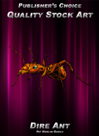 Publisher's Choice - Quality Stock Art: Dire Ant