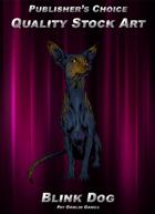 Publisher's Choice - Quality Stock Art: Blink Dog