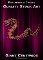 Publisher's Choice - Quality Stock Art: Giant Centipede