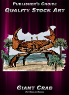 Publisher's Choice - Quality Stock Art: Giant Crab