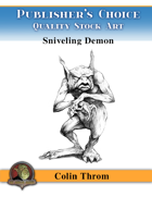 Publisher's Choice - Colin C. Throm (Sniveling Demon)