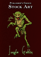 Publisher's Choice - Quality Stock Art: Jungle Goblin