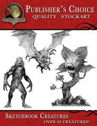 Publisher's Choice - Sketchbook Creatures (50+ collection)