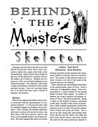 Behind the Monsters: Skeleton