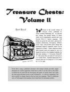 Treasure Chests: Volume 2