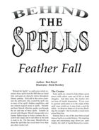 Behind the Spells: Feather Fall
