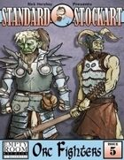 Standard Stock Art: Issue 5- Orc Fighters