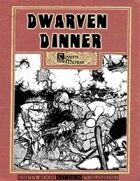 Tavern Menus: Dwarven Dinner