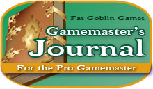 Gamemaster's Journal