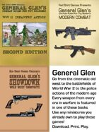 General Glen's Combat Rules for Toy Soldiers Bundle