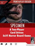 Specimen Board Game - Print and Play edition