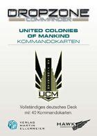Dropzone Commander UCM Kommandokarten